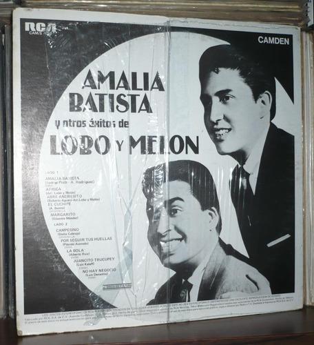 lobo y melon lp amalia batista y otrosexitos
