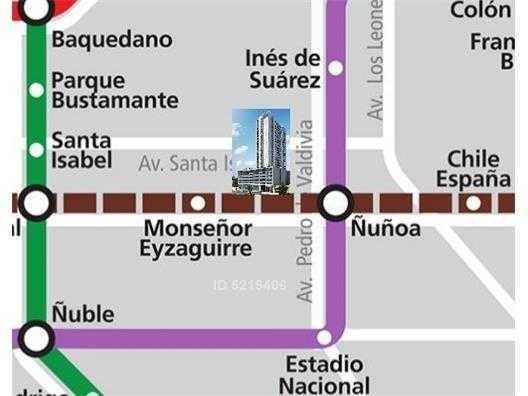 (loc) irarrazaval / campo de deportes 132 m2