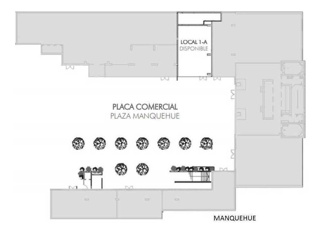(loc) locales metro manquehue 127,37 m2