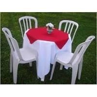 locacao de cadeiras de ferro madeira e plastico e mesas
