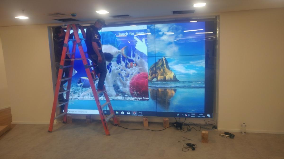 Locaçao De Videowall Touch Screen Multivision Locações
