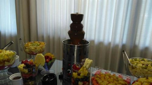 locação aluguel maquina cascata de chocolate 2kg.