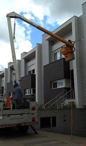 locação caminhão com cesto aéreo - escada (s) extensão - sul