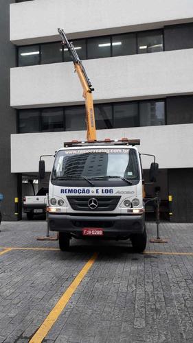 locação caminhão munck com cesto aéreo