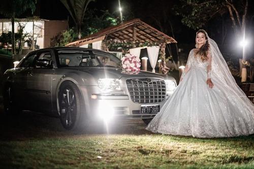 locação chrysler 300c para casamentos e eventos