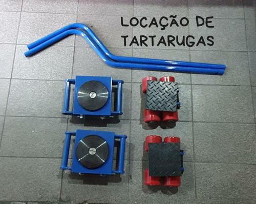locação conjunto de tartarugas com capacidade de 02 ton