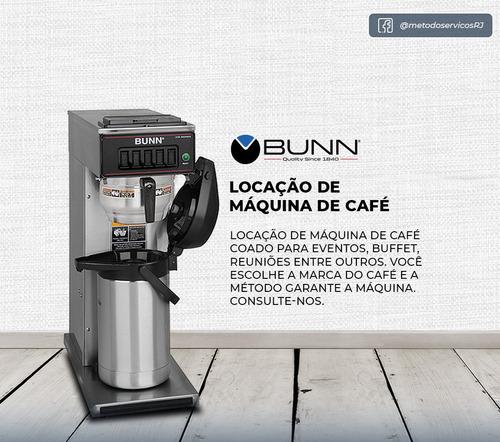 locação da máquinas de café coado bunn 220v