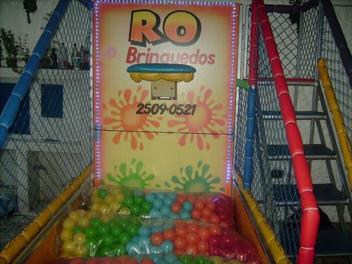 locação de brinquedos:futebol de sabão,tombo legal, toboga
