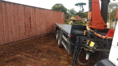 locação de caminhão munck e guindastes