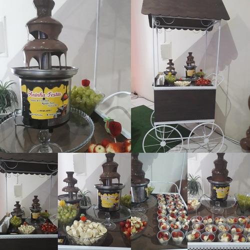 locação de carrinho gourmet com buffet doce/opcional
