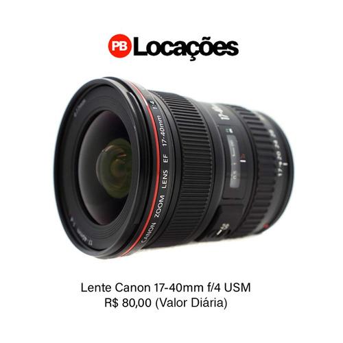 locação de equipamentos fotográficos