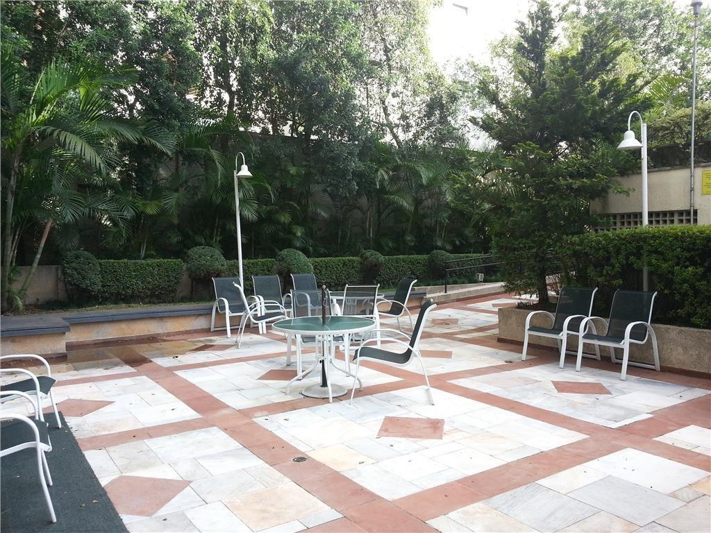 locação de flat em bairro nobre - higienópolis - fl0410
