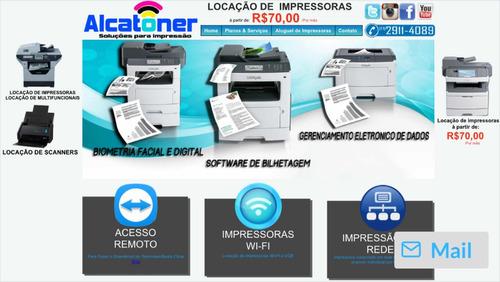 locação de impressoras - locacao de multifuncionais
