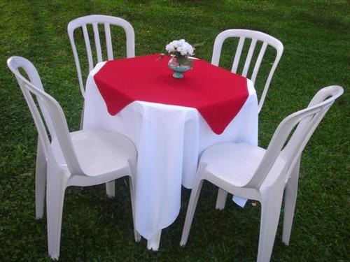 locação de mesas, cadeiras e toalhas para festas e eventos