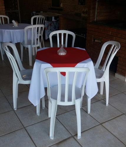 locação de mesas e cadeiras em cotia e região - melhor preço