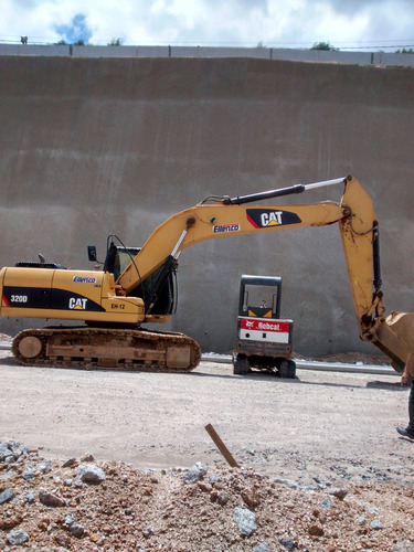 locação de mini escavadeiras