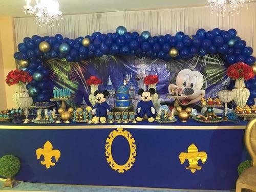 locação decoração mickey realeza luxo