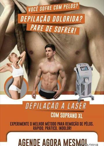 locação laser soprano e criolipolise