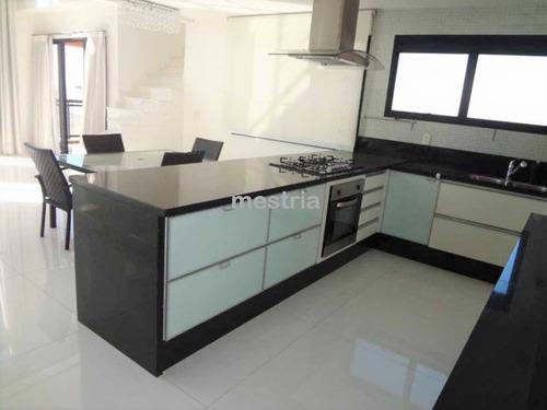 locação mais que perfeita! pé direite duplo, varanda gourmet, cozinha integrada! - di27385