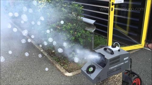locação maquina de bolha de sabão normal e também com fumaça
