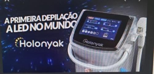 locação máquina de depilação laser a led - holonyak