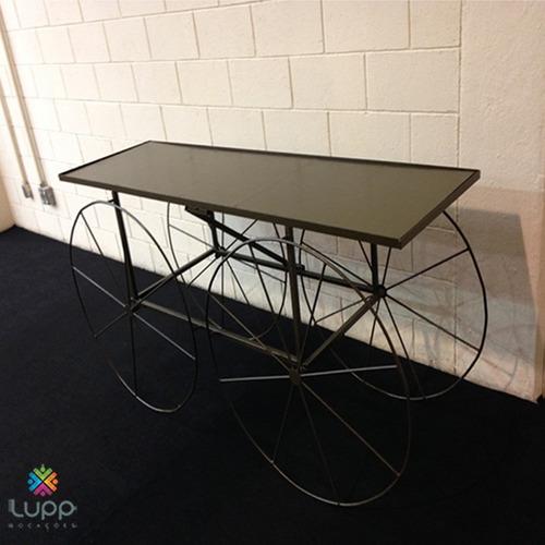 locação mesa rústica/ cristaleira/ aparador/ mesas/ cadeiras