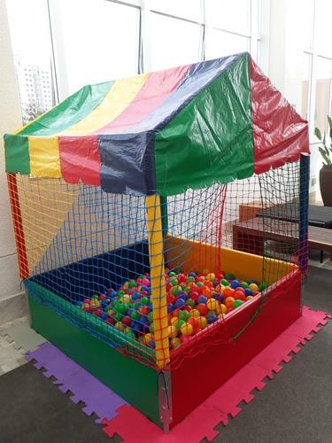 locação piscina bolinhas, cama elástica, espaço kids