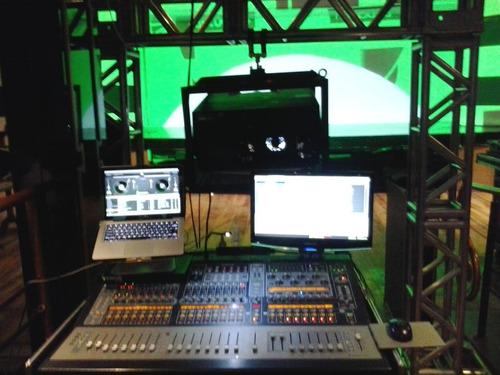 locação projetor 15.000 lúmens telão sonorização iluminação