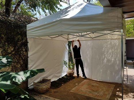 locação/aluguel de tendas 3x3 para eventos r$150,00