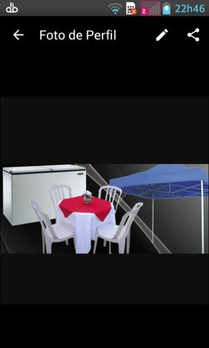 locações de mesas e cadeiras e freezer zona leste