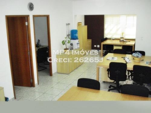 locação,venda-p. industrial, 8 salas, 300 m² - co0518l