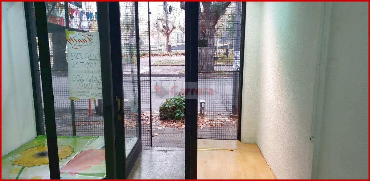 local 42 m2 con patio en alquiler en san andres