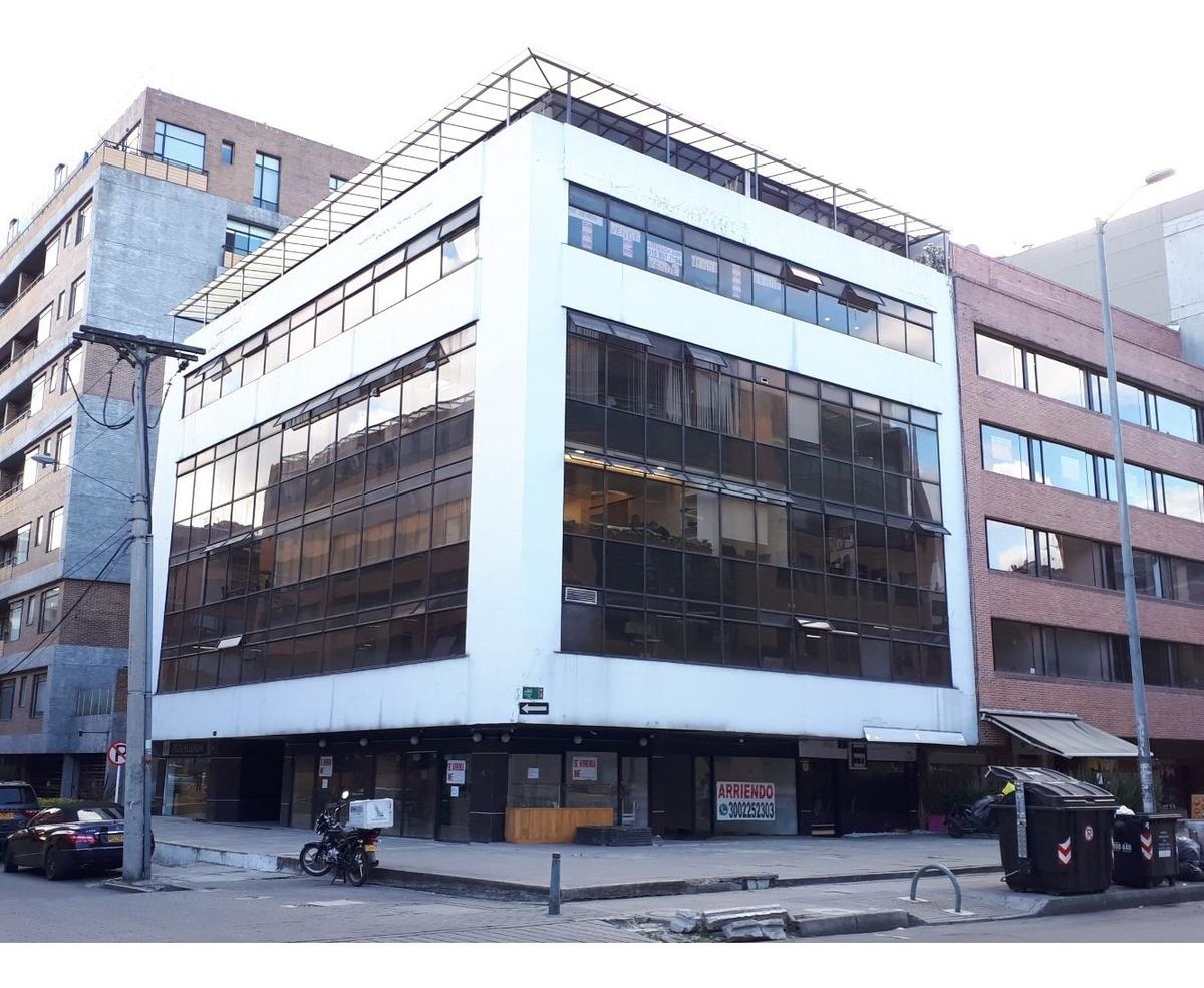local 46 m2 chicó calle 90 # 13a-11 exterior, iluminado