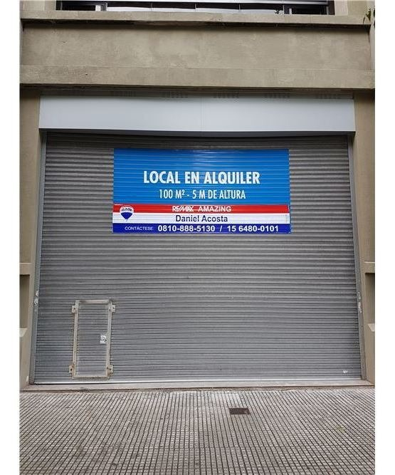 local alquiler barracas importante emprendimiento