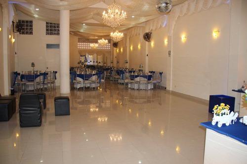 local + catering completo (100 personas) - chorrillos
