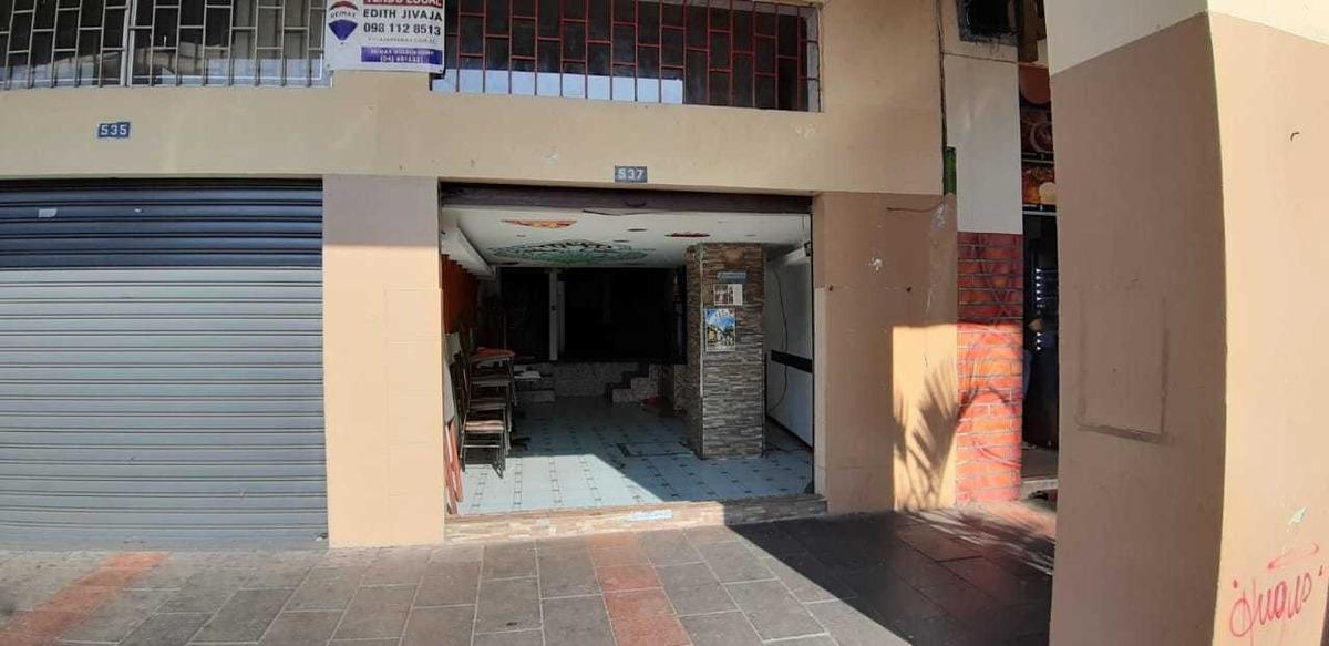 local centro guayaquil amoblado propiedad lista a operar