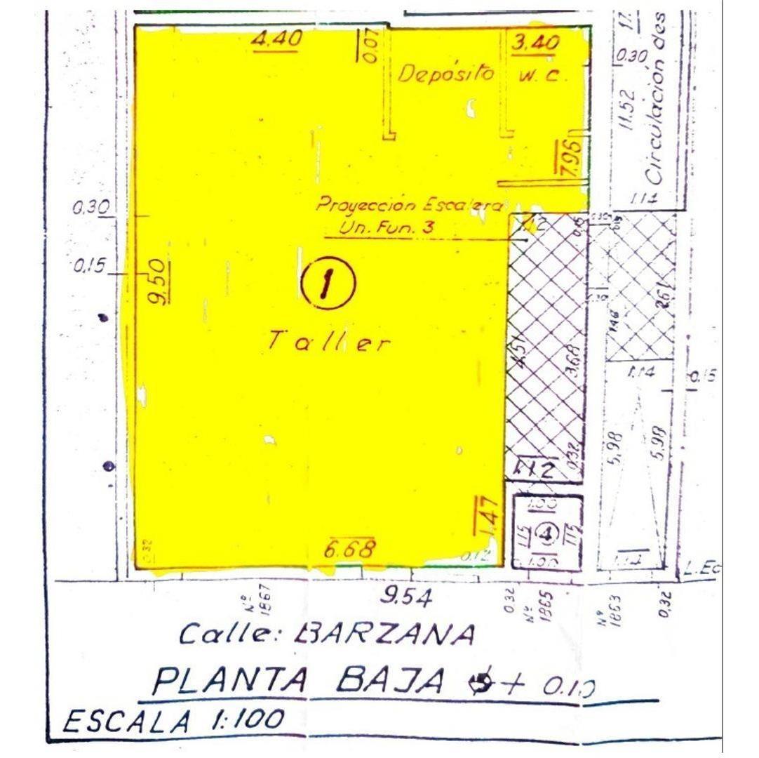 local c/oficinas o vivienda y unidad complementaria