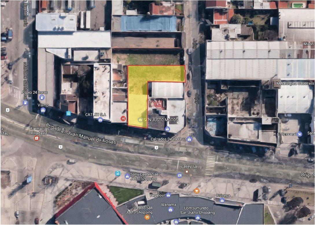 local comercial 300 m² refaccionado a nuevo c/ salida a 2 calles zona shooping - s.justo (ctro)