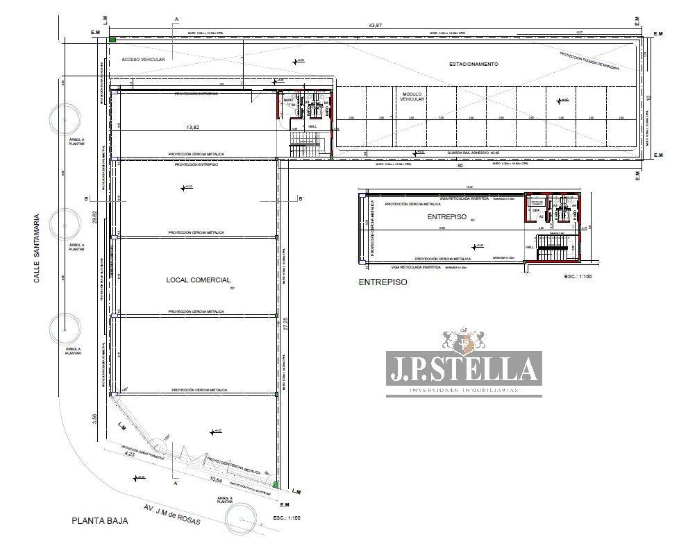 local comercial 499 m² frente al shopping san justo - s.justo (ctro)