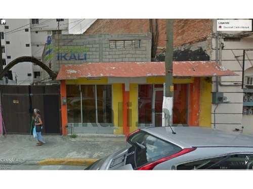 local comercial con cochera en renta  200 m² centro de tuxpan veracruz, se encuentra ubicado en la calle juárez la principal avenida y con mayor flujo vehicular del centro de la ciudad, es un local g