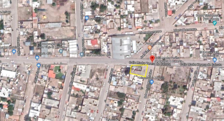 local comercial con terreno en venta colonia valle del guadiana