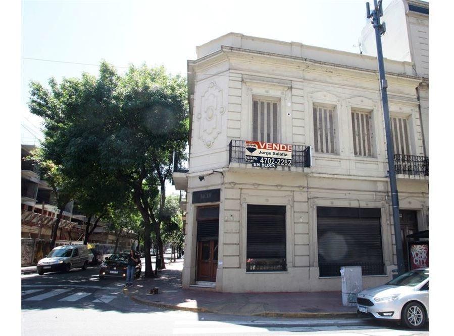 local comercial con vivienda y terraza- san telmo
