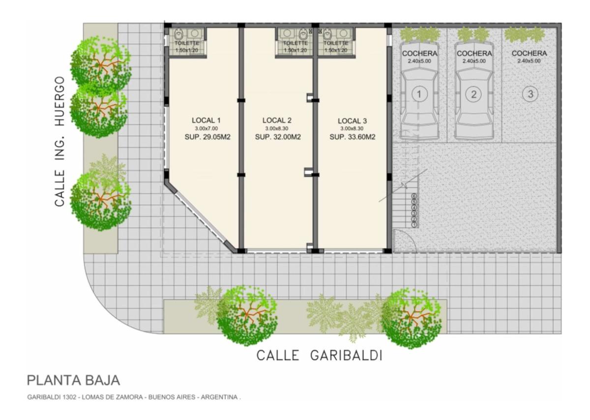 local comercial de diseño moderno a estrenar, 33 m2