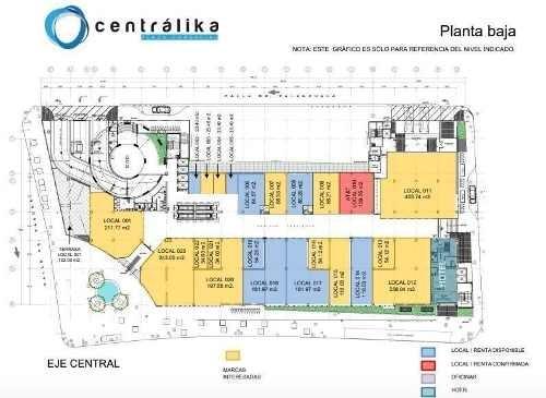 local comercial en centralika, eje central