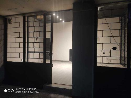 local comercial en planta baja recién remodelado edificio presidente juárez