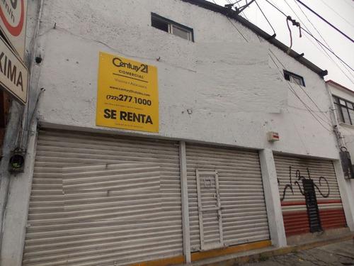 local comercial en renta en col. pilares.