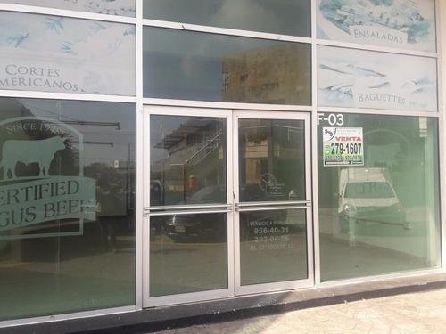 local comercial en renta en plaza veleros. riviera veracruzana