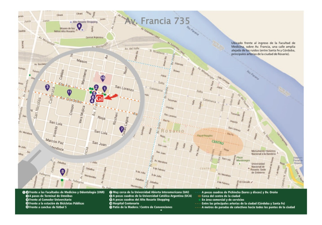 local comercial - francia 700 - facultad de medicina