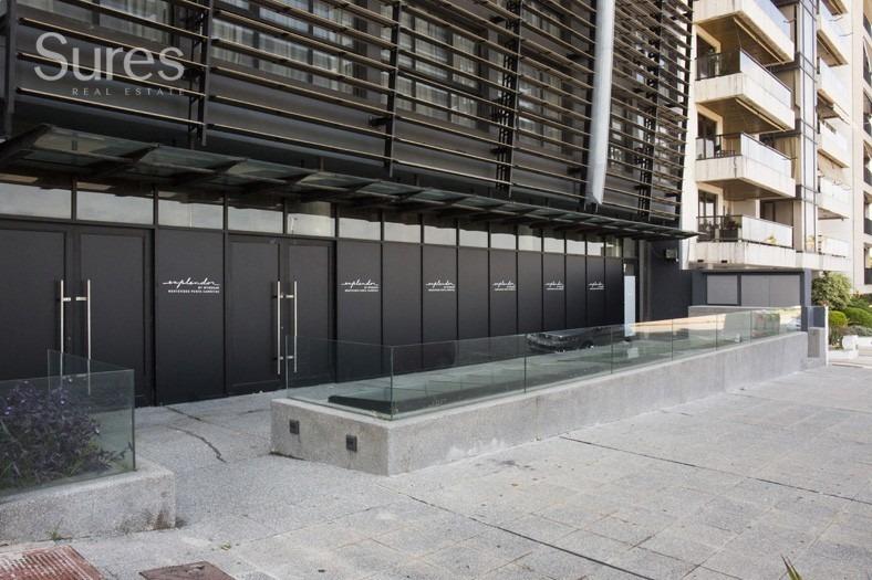 local comercial - oficina en prestigioso hotel de punta carretas
