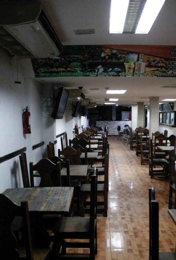 local comercial para restaurante